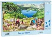 Lake View Puzzel 1000 Stukjes