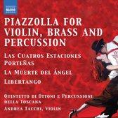 Tacchi/Quintetto Di Ottoni E Percus - Tangos For Violin, Brass Quintet An