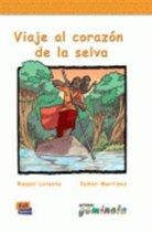 Lecturas Gominola niveles A2: Viaje al corazón de la selva libro + cd-audio