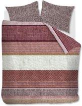 Beddinghouse Durness - Dekbedovertrek - Extra Breed - 260x200/220 - Donker Rood