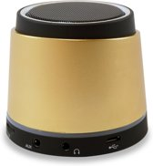 Portable Bluetooth Car Speakerphone Gold