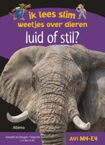 Boek cover Ik lees slim : weetjes over dieren - Luid of stil? van Anneriek van Heugten (Hardcover)