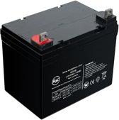 AJC® battery compatibel met Vision 6FM33D-X 12V 35Ah Lood zuur accu