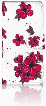 Samsung Galaxy S10 Plus Boekhoesje Design Blossom Red