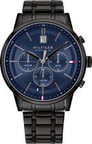 Tommy Hilfiger TH1791633 Horloge  - Staal - Zwart - Ø  44 mm