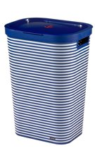 Curver Infinity Wasbox - 59 l - Navy Stripes