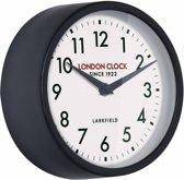 London clock Schoolklok - Horwich - zwart