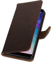 Samsung Galaxy A6 Plus 2018 Mocca | Premium bookstyle / book case/ wallet case  | WN™