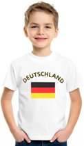 Kinder t-shirt vlag Deutschland S (122-128)