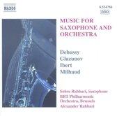 Debussy; Ibert; Glazunov et al: Music for Saxophone