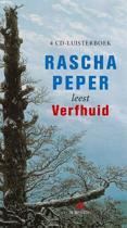 Boek cover Verfhuid van Rascha Peper