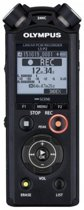 Olympus LS-P2 Intern geheugen & flash-kaart Zwart dictaphone