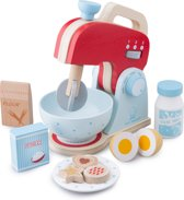 New Classic Toys - Speelgoed Mixer - Inclusief Accessoires - Rood