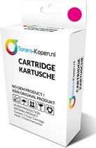 Canon CLI-521 CLI 521 2935B001  alternatief - compatible inkt cartridge voor Canon CLI 521 magenta wit Label Toners-kopen_nl
