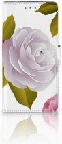 Motorola Moto X4 Uniek Boekhoesje Roses