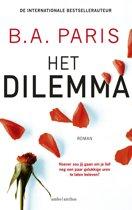 Boek cover Het dilemma van B.A. Paris (Paperback)