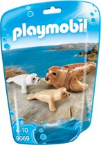 Playmobil Family Fun: Zeehond Met Pups (9069)