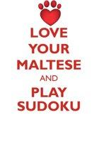 Love Your Maltese and Play Sudoku Maltese Sudoku Level 1 of 15