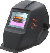 Kibani automatische lashelm zwart DX