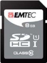 Emtec 8GB SDHC 8GB SDHC Class 10 flashgeheugen