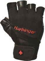 Harbinger - Pro WristWrap® Gewichthefhandschoenen - Fitness Handschoenen - XXL - Zwart