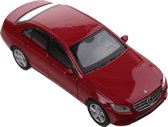 Welly Schaalmodel Mercedes-benz 2016 E-class 1:34 Rood 11 Cm