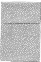 Cottonbaby Ledikantlaken hagel hagel grijs