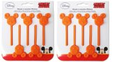 2x Silicone bakvorm lollie Mickey Mouse t.b.v Chocolade
