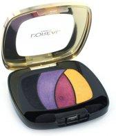 L'Oréal Paris Color Riche Quad - S3 Disco Smoking - Paars - Oogschaduw Palet