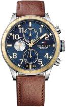Tommy Hilfiger TH1791137 horloge heren - bruin - edelstaal
