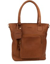 BURKELY Melany front compartment Shopper - Light tan