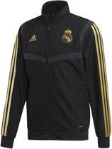 adidas Real Madrid Trainingsjack 2019/2020 Heren - Zwart - Maat XL