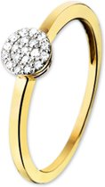 The Jewelry Collection Ring Diamant 0.095 Ct. - Bicolor Goud