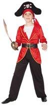 Piraten kostuum voor kinderen 130-140 (10-12 jaar)