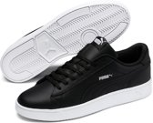 PUMA Court Breaker Derby L Sneakers Unisex - Puma Black / Silver / Puma White - Maat 43