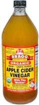 Bragg apple cider azijn - 946 ml - Voedingssupplement
