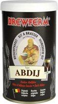 Zelf bier brouwen pakket Abdij bier donker dubbel 9 liter