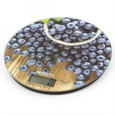 MARTA MT-1635 Elekektronische keukenweegschaal (blueberry)