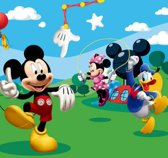 Dutch Wallcoverings Fotobehang Mickey Mouse,  4-d