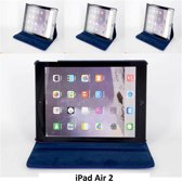 Book Case Tablet voor Apple iPad Air 2 - Blauw