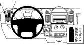 Brodit left mount v. Citro?n Jumper 07/Peugeot Boxer 07/Fiat Ducato 07-