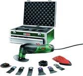 Bosch PMF 190 E Multitool Oscillerend 190 Watt Inclusief aluminium opbergkoffer en 11 accessoires