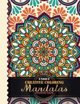 Unique Creative Coloring Mandalas Coloring Book
