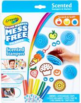 Crayola - Color Wonder Scented Stampers & Markers Set