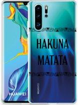 Huawei P30 Pro Hoesje Hakuna Matata black