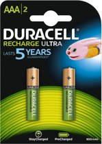 Duracell Rechargeable Accu Stay Charged - 2xAAA