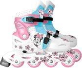 Disney Inlineskates Minnie Mouse Meisjes Wit/blauw Maat 34/37