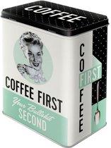 Bewaarblik - Coffee First