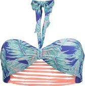 O'Neill Bikinitopje Reversible bandeau - Blue Aop W/ Green - 38