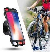 Telefoonhouder - Fiets - Motor - Kinderwagen - Universeel - Telefoon 4 tot 6.5 inch (10 tot 16.5 cm) - Veilig Navigeren